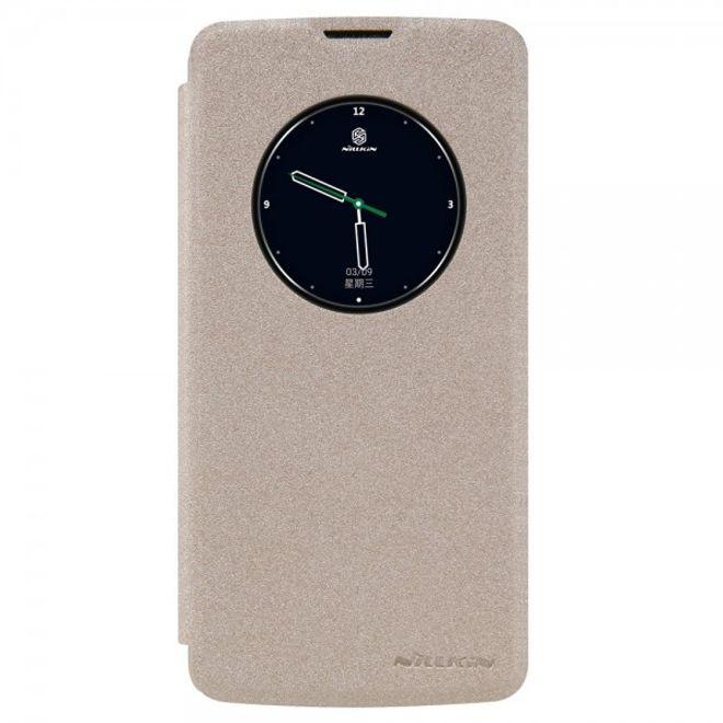 Nillkin Nillkin - LG K8 Leder Smart Case mit Fenster - Sparkle View Series - gold