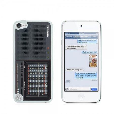 iPod Touch 5/6 Hart Plastik Case Handyhülle mit Tecson R-2010 Radio