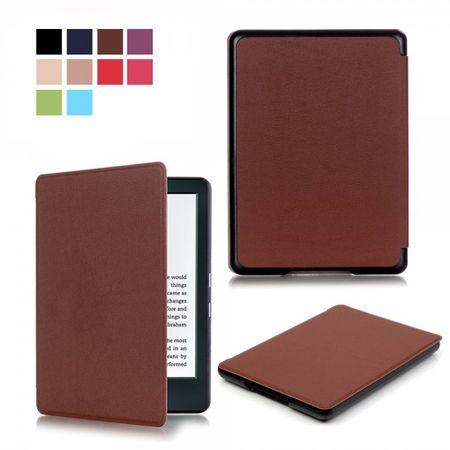 Amazon All-New Kindle Schlanke Leder Smart Cover Hülle - braun