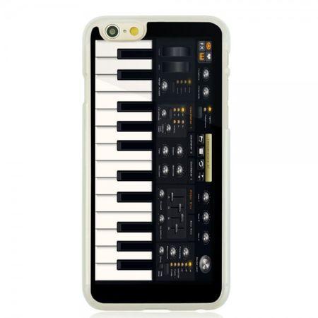 iPhone 6/6S Hart Plastik Case Handyhülle mit elektronischem Klavier