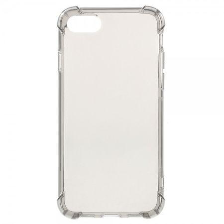 iPhone 8 / 7 Robuste, elastische Plastik Case Handy Hülle - grau