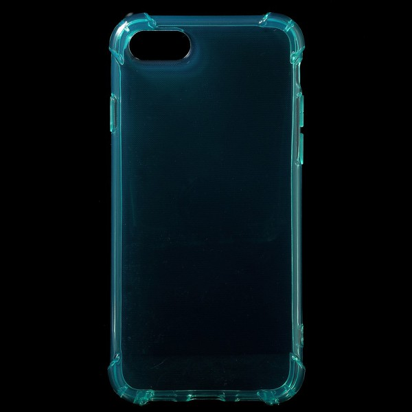 iPhone 7 Robuste, elastische Plastik Case Handy Hülle - cyan