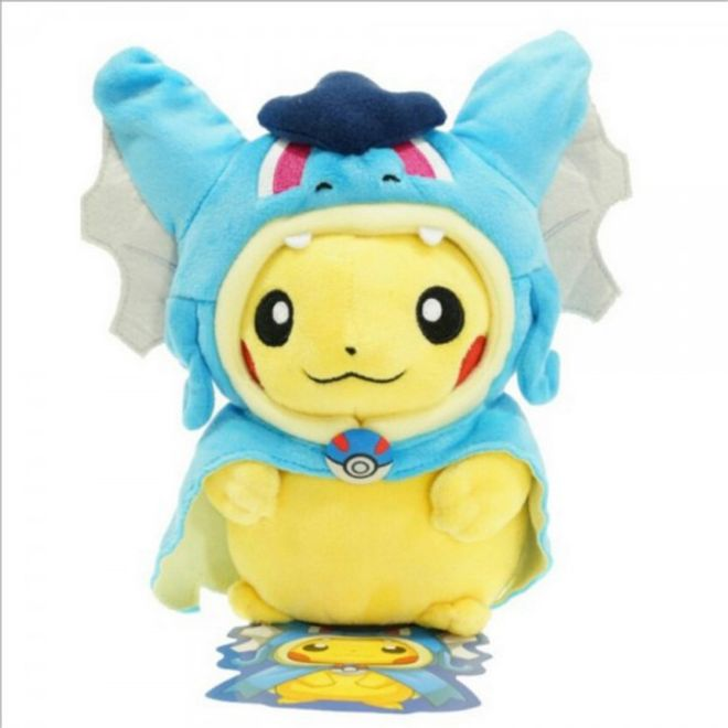 1 Garados With Cute Pikachu Pokemon Variant Plushie Go Hat y6b7fg