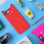 Baseus - iPhone 8 Plus / 7 Plus Cover - Hülle aus Silikon - 3D Devil Series - rot