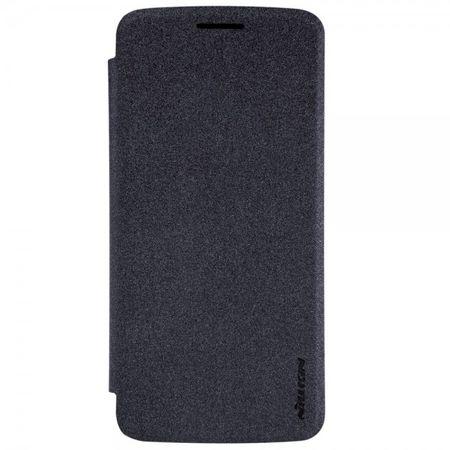 Nillkin - Motorola Moto Z/Z Droid Hülle - Flip Case aus Leder - Sparkle Series - schwarz