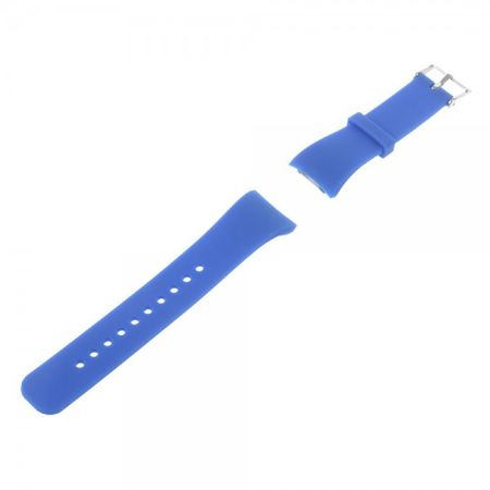 Samsung Gear Fit 2 Armband - aus Silikon - dunkelblau