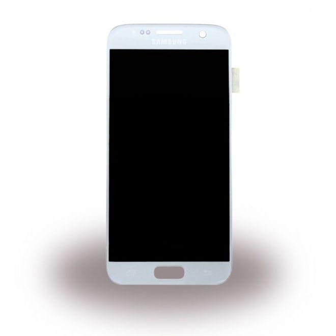 Samsung Samsung Galaxy S7 - Original LCD und Digitizer Umbaukit Ersatzteil - GH97-18523B - silber