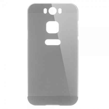 Gigaset ME Handyhülle - Metall Bumper und Plastik Case in einem - aufschiebbar - silber