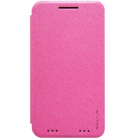 Nillkin - Motorola Moto X Force Hülle - Case aus Leder - Sparkle Series - rosa