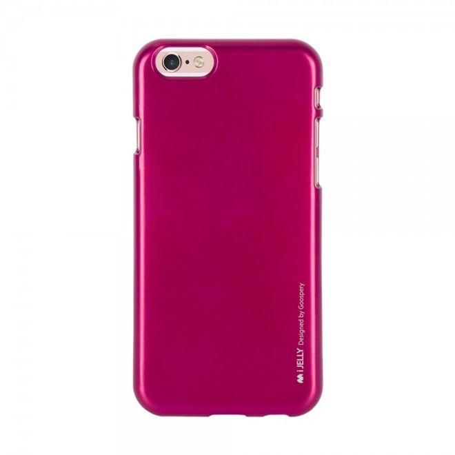 Goospery Mercury Goospery - Handy Schutzhülle für Samsung Galaxy A7 - Cover aus elastischem Gummi - i Jelly Series - pink