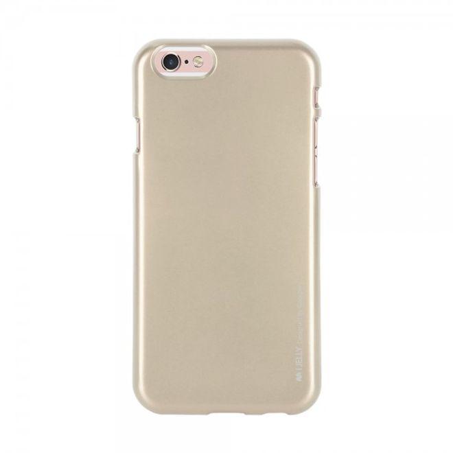 Goospery Mercury Goospery - Handy Schutzhülle für LG V10 - Cover aus elastischem Gummi - i Jelly Series - gold
