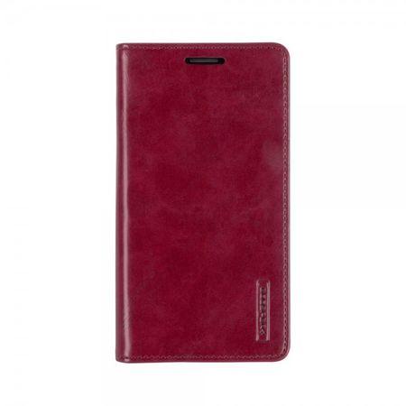 Mercury Goospery - Handyhülle für Samsung Galaxy Note 2 - Case aus Leder - Blue Moon Series - weinrot