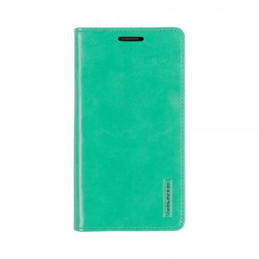 Mercury Goospery - Handyhülle für Samsung Galaxy Note 2 - Case aus Leder - Blue Moon Series - mint