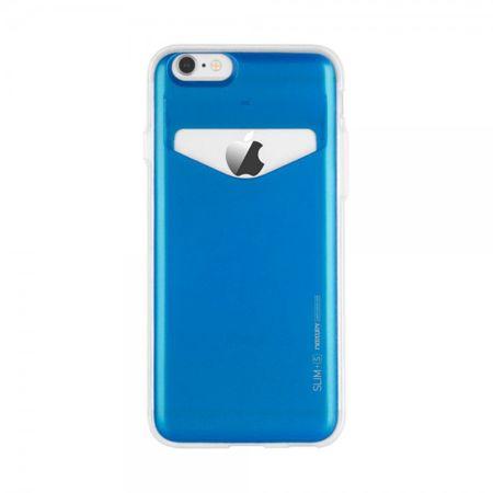 Mercury Goospery - Case für Samsung Galaxy Note 2 - Handyhülle aus Plastik - Slim Plus S Series - blau