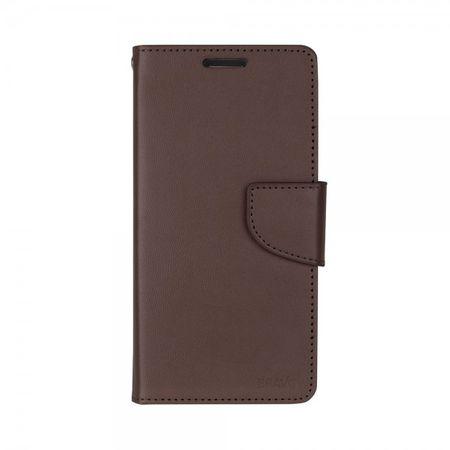 Mercury Goospery - Handyhülle für Samsung Galaxy Note 3 - Case aus Leder - Bravo Diary Series - braun