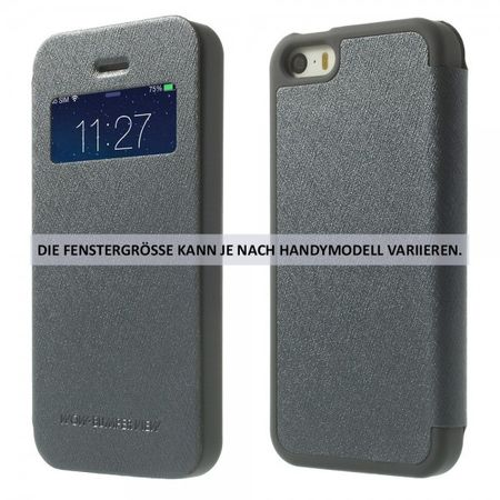 Mercury Goospery - Cover für Samsung Galaxy Note 3 - Handyhülle aus Plastik - Wow Bumper Series - grau