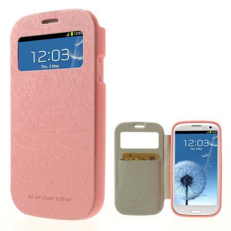 Mercury Goospery - Cover für Samsung Galaxy S3 - Handyhülle aus Plastik - Wow Bumper Series - pink