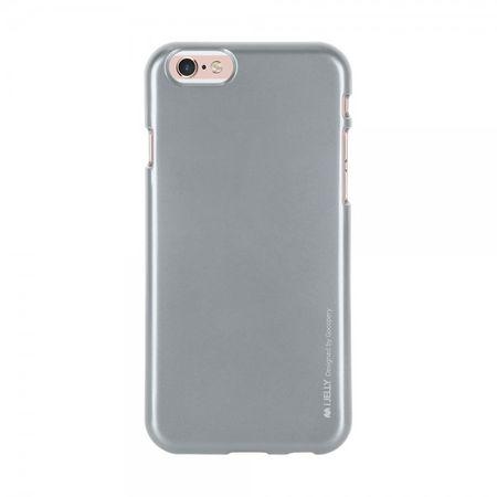 Goospery - Hülle für Samsung Galaxy S4 - Cover aus elastischem Gummi - i Jelly Series - grau