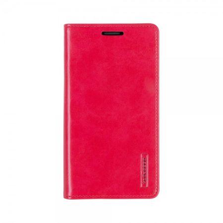 Mercury Goospery - Handyhülle für Samsung Galaxy S5 - Case aus Leder - Blue Moon Series - rot