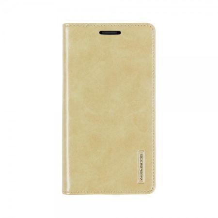 Mercury Goospery - Handyhülle für Samsung Galaxy S5 - Case aus Leder - Blue Moon Series - gold