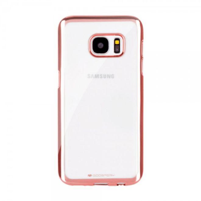 Goospery Mercury Goospery - Gummi Cover für Samsung Galaxy Note 5 - Handyhülle aus Gummi - Ring 2 Series - rosagold