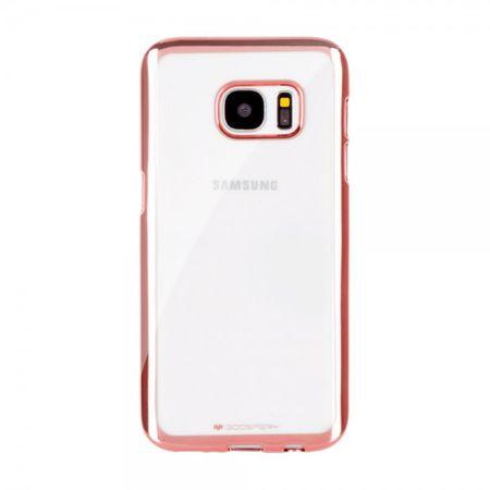 Goospery - Gummi Cover für Samsung Galaxy S5 - Handyhülle aus Gummi - Ring 2 Series - rosagold