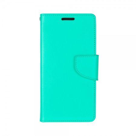 Mercury Goospery - Handyhülle für Samsung Galaxy J7 (2016 Edition) - Case aus Leder - Bravo Diary Series - mintgrün