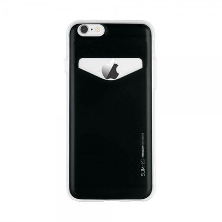 Goospery - Case für Samsung Galaxy S6 - Handyhülle aus Plastik - Slim Plus S Series - schwarz