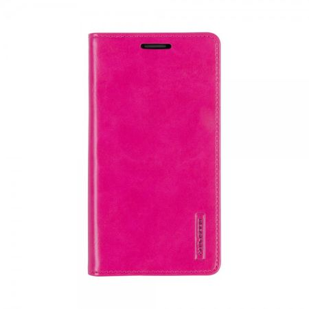 Mercury Goospery - Handyhülle für Samsung Galaxy J7 - Case aus Leder - Blue Moon Series - rosa