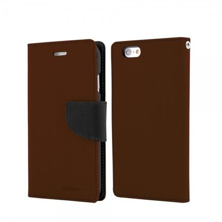 Goospery - Samsung Galaxy Note 1 Hülle - Handy Bookcover - Fancy Diary Series - braun/schwarz