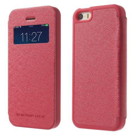 Mercury Goospery - Cover für iPhone 5/5S/SE - Handyhülle aus Plastik - Wow Bumper Series - rosa