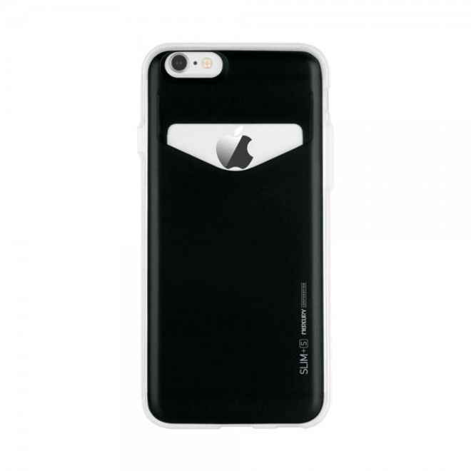 Goospery Mercury Goospery - Case für iPhone 6/6S Plus - Handyhülle aus Plastik - Slim Plus S Series - schwarz