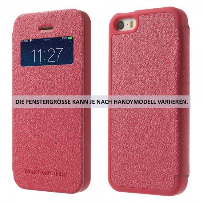 Goospery Mercury Goospery - Cover für iPhone 4/4S - Handyhülle aus Plastik - Wow Bumper Series - rosa