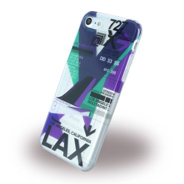 Benjamins - iPhone 8 / 7 Handyhülle - Case aus Silikon - Airport LAX Los Angeles - BJ7AIRLAX