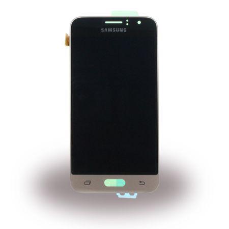 Samsung - Galaxy J1 (2016) - Original LCD und Digitizer Umbaukit Ersatzteil - GH97-18224B - gold