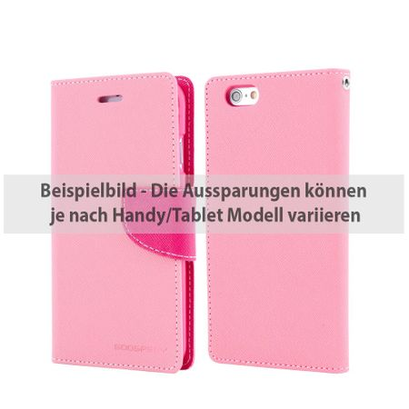 Mercury Goospery - Samsung Galaxy Tab S2 9.7 Hülle - Tablet Bookcover - Fancy Diary Series - rosa/pink