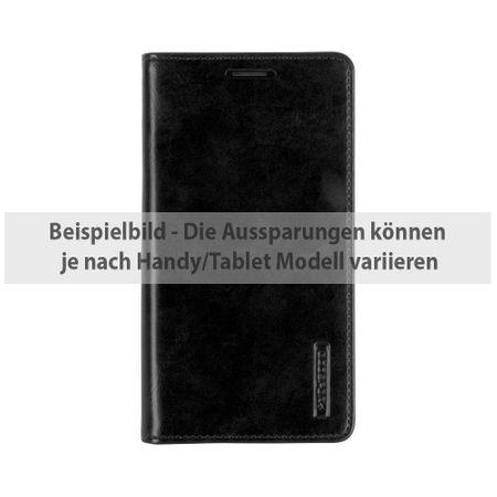 Goospery - Handyhülle für Sony Xperia XA - Case aus Leder - Blue Moon Series - schwarz