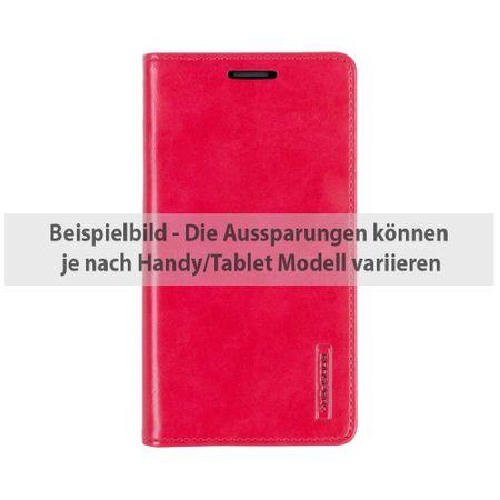Mercury Goospery - Handyhülle für Huawei P9 Plus - Case aus Leder - Blue Moon Series - rot