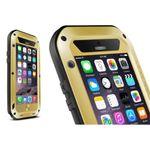 Love Mei - iPhone 6 Plus/6S Plus - Ultrarobuste Metall Hülle - Powerful Series - gold