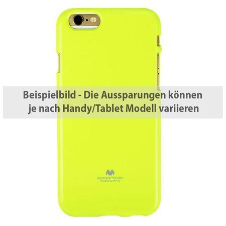 Mercury Goospery - Samsung Galaxy S5 Handyhülle - Case aus Plastik - schillernde Farbe - Jelly Series - lime