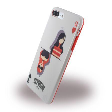 Si Puede - iPhone 8 Plus / 7 Plus Handyhülle - Case aus Silikon - C7PQUEEN - Queen