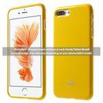 Goospery - Hülle für iPhone 5/5S/SE - TPU Soft Case - Pearl Jelly Series - gelb
