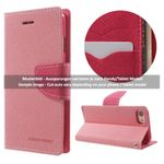 Goospery - Samsung Galaxy S8 Hülle - Handy Bookcover - Fancy Diary Series - rosa/pink