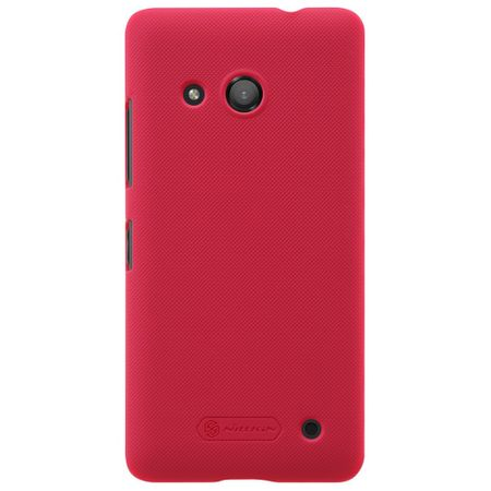 Nillkin - Microsoft Lumia 550 Handyhülle - Plastik Case - Super Frosted Shield Series - rot