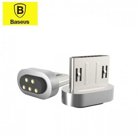Baseus - Magnetischer Micro USB Adapter - Insnap Series - silber