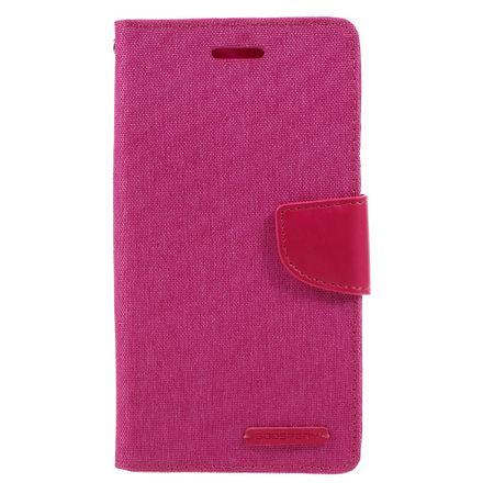 Mercury Goospery - Asus Zenfone 3 Hülle - Handy Bookcover - Canvas Diary Series - pink
