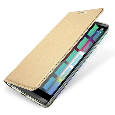 Dux Ducis - LG G6 Hülle - Handy Bookcover - Skin Pro Series - gold