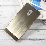 Nokia 6 Handyhülle - Bumper und Hartplastik Case - gold
