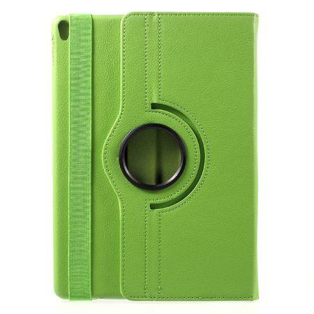 iPad Pro 10.5 Tablet Hülle - Case aus Leder - rotierbar und mit Standfunktion - grün