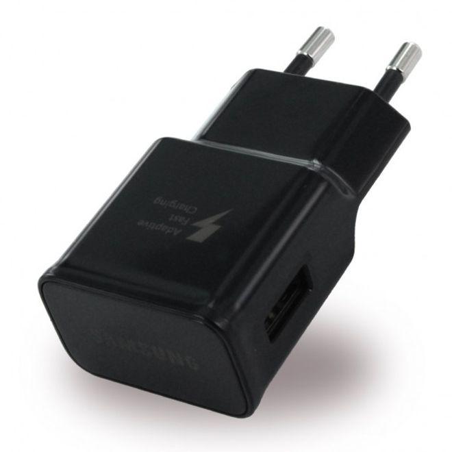 Samsung Samsung - Original USB AFC Schnell Ladegerät EP-TA20EBE (2A) - Schwarz